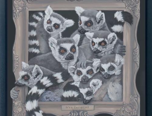 Framed Animal Series of Paintings