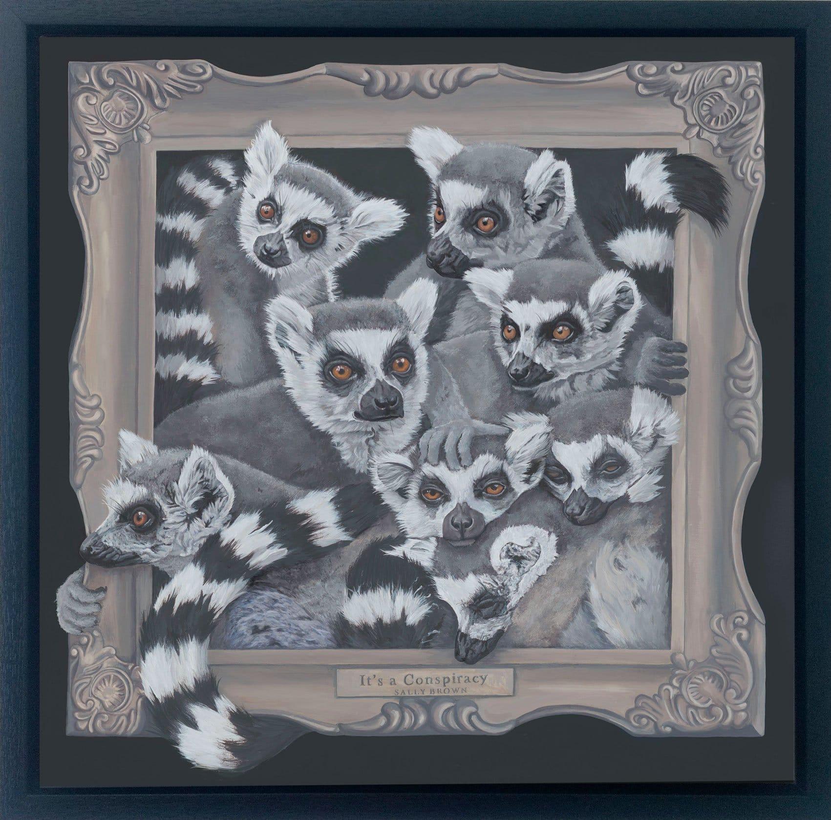 Framed-canvas-It'saconspiracy