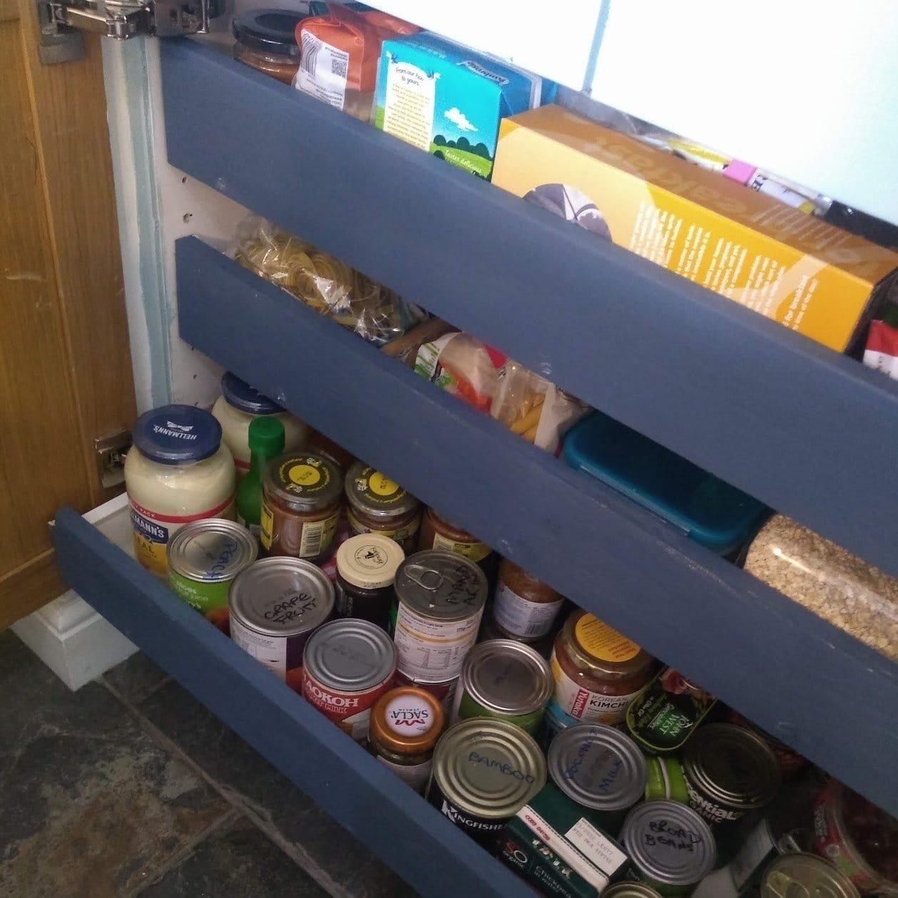 dresser tins