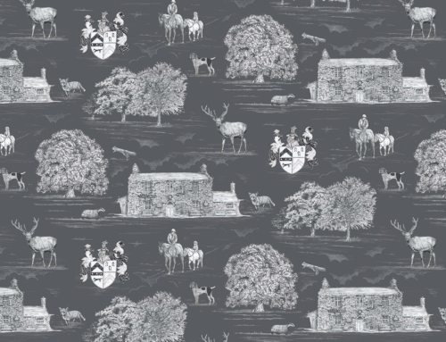 Creating a Bespoke Pattern for Fabrics and Wallpaper